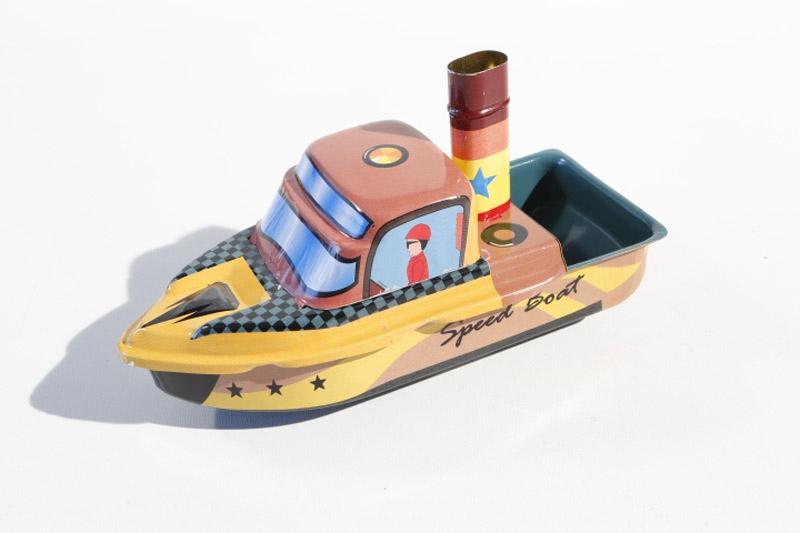 Kerzendampfboot